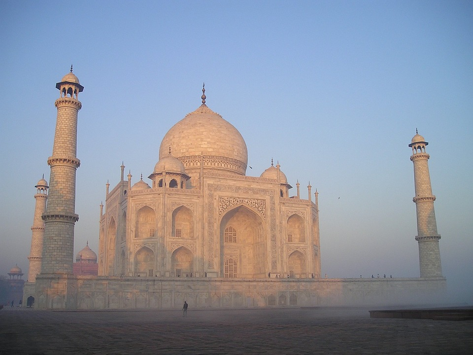 Taj Mahal at Agra, India is one of the wonders of the world